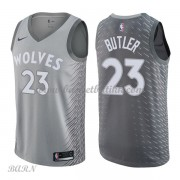 Barn Basketball Drakter Minnesota Timberwolves 2018 Jimmy Butler 23# City Edition Swingman..